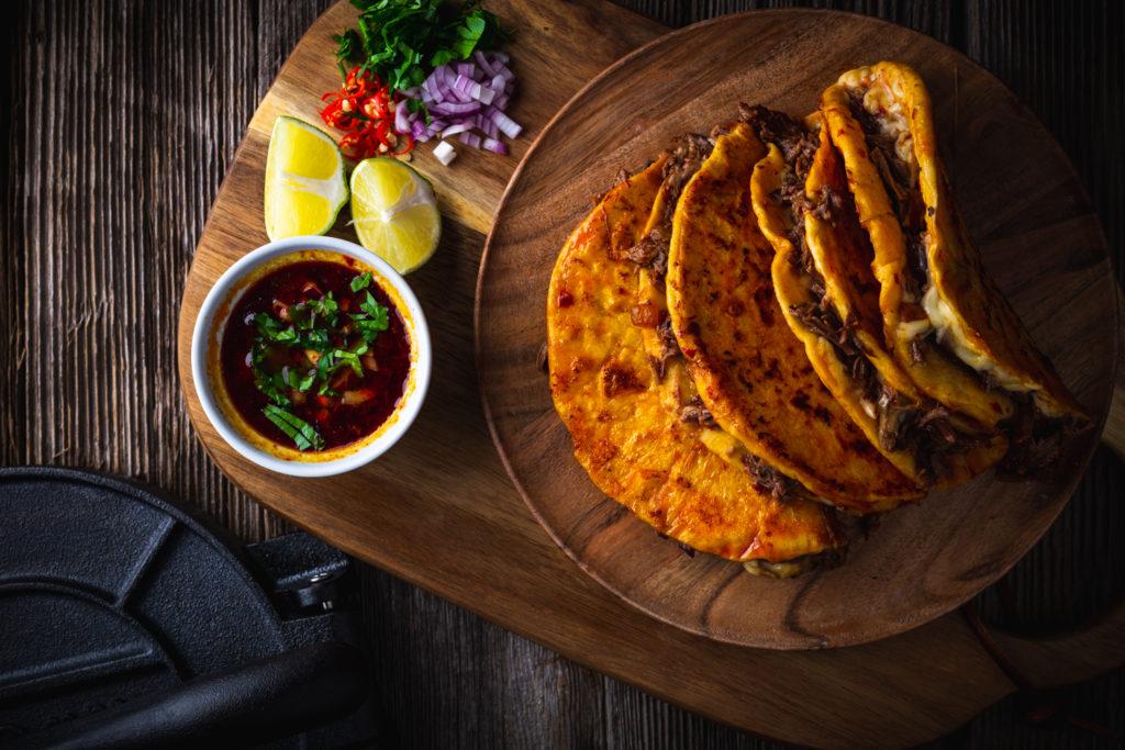 Tacos mit Rinderrippchen